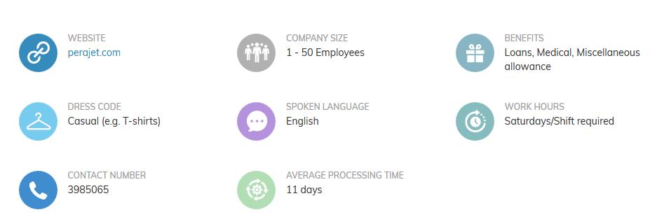 PeraJet Career