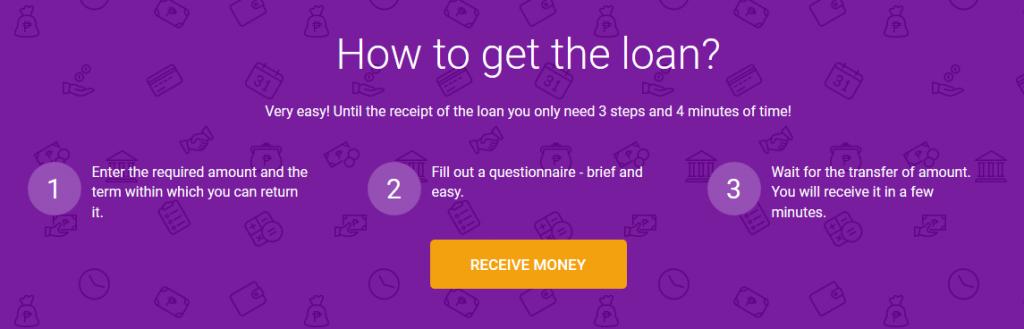 Robocash get loan online