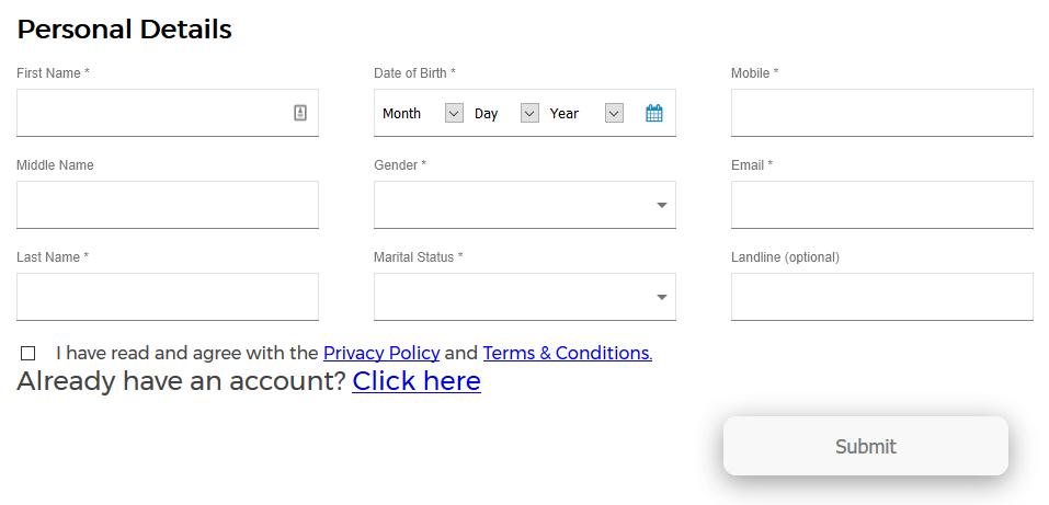 Loan Ranger Application Form