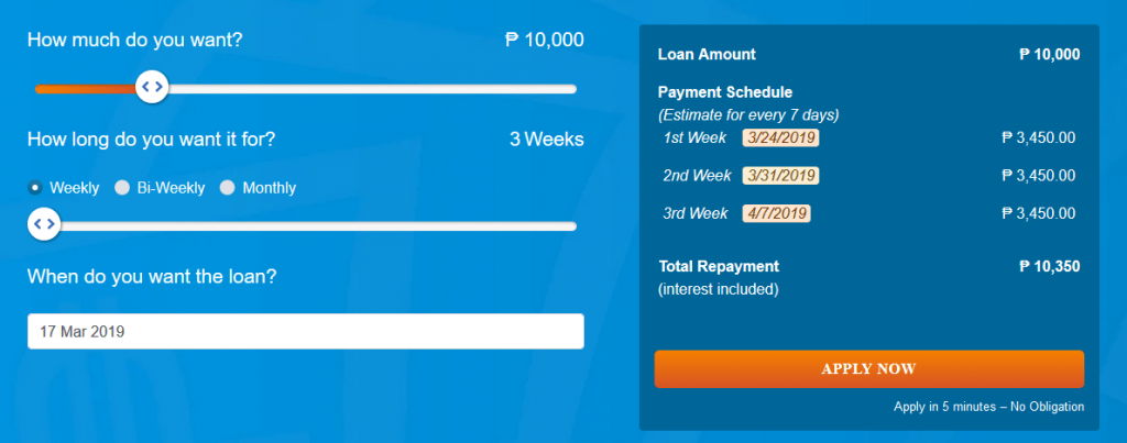 Cashmart Loans up to 10000 PHP
