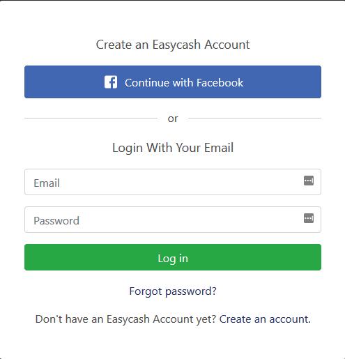 Easycash Account