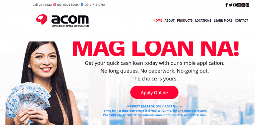 ACOM Consumer Finance Corporation