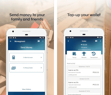 Money gment mobile application