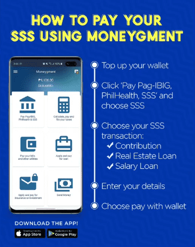 How to pay your SSS in the Philippines with Moneygment