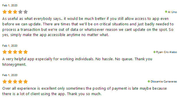 Reviews Moneygment