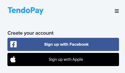 Tendopay registration
