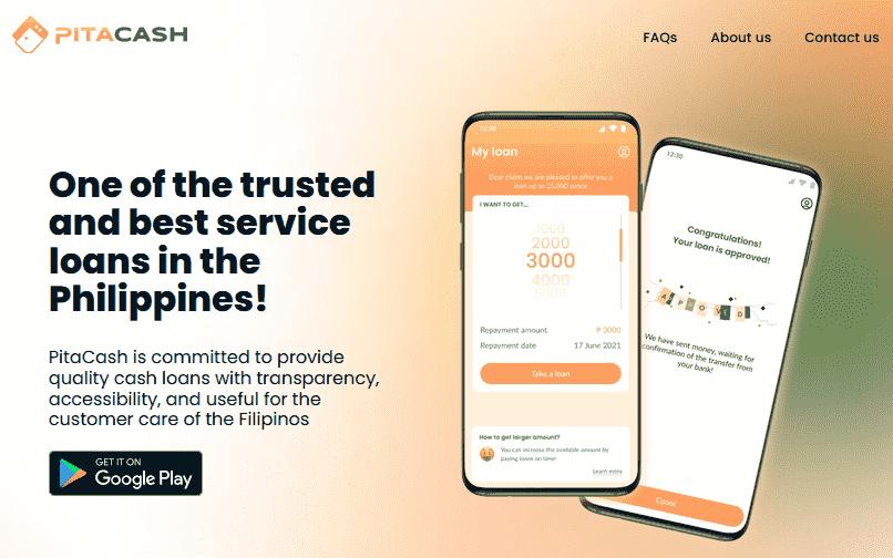 Pitacash online loan