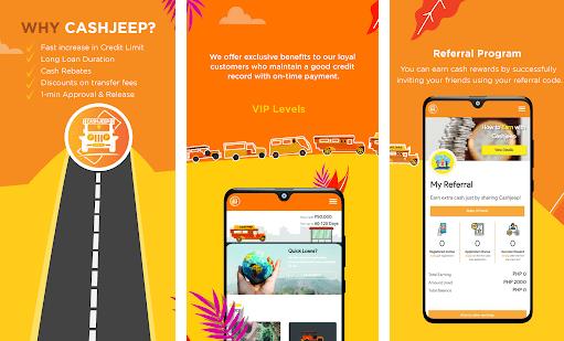 Cashjeep loan app